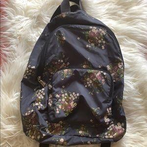 Coach Flower Print Backpack